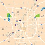 Large Indianapolis Maps For Free Download And Print | High   Downtown Indianapolis Map Printable