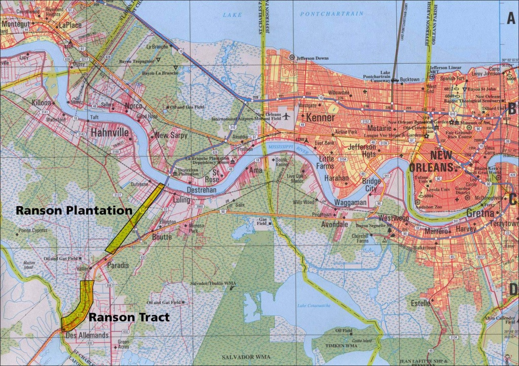 Large New Orleans Maps For Free Download And Print | High-Resolution - Printable Walking Map Of New Orleans