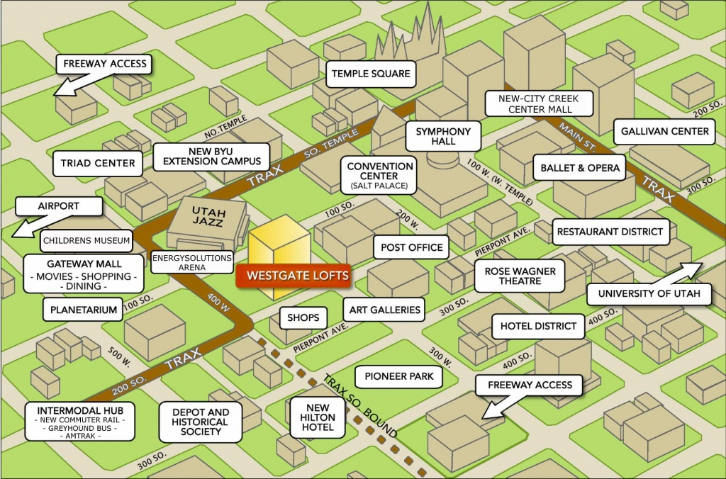 Large Salt Lake City Maps For Free Download And Print   High - Printable City Maps