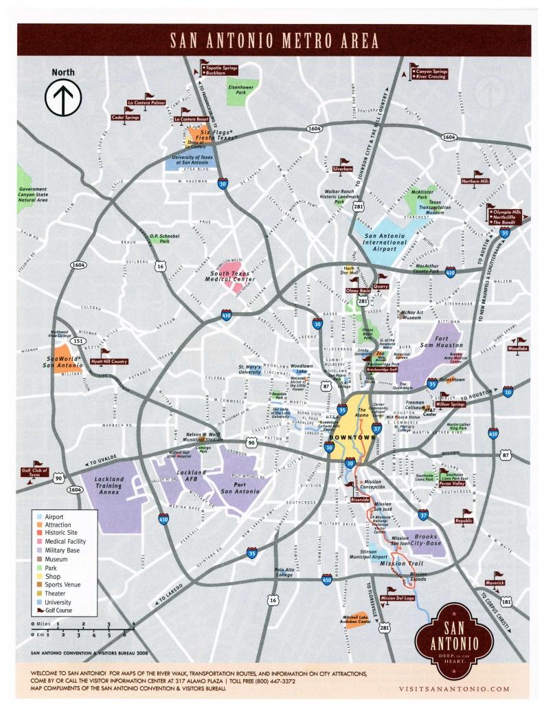 Large San Antonio Maps For Free Download And Print | High-Resolution - Map Of San Antonio Texas Area