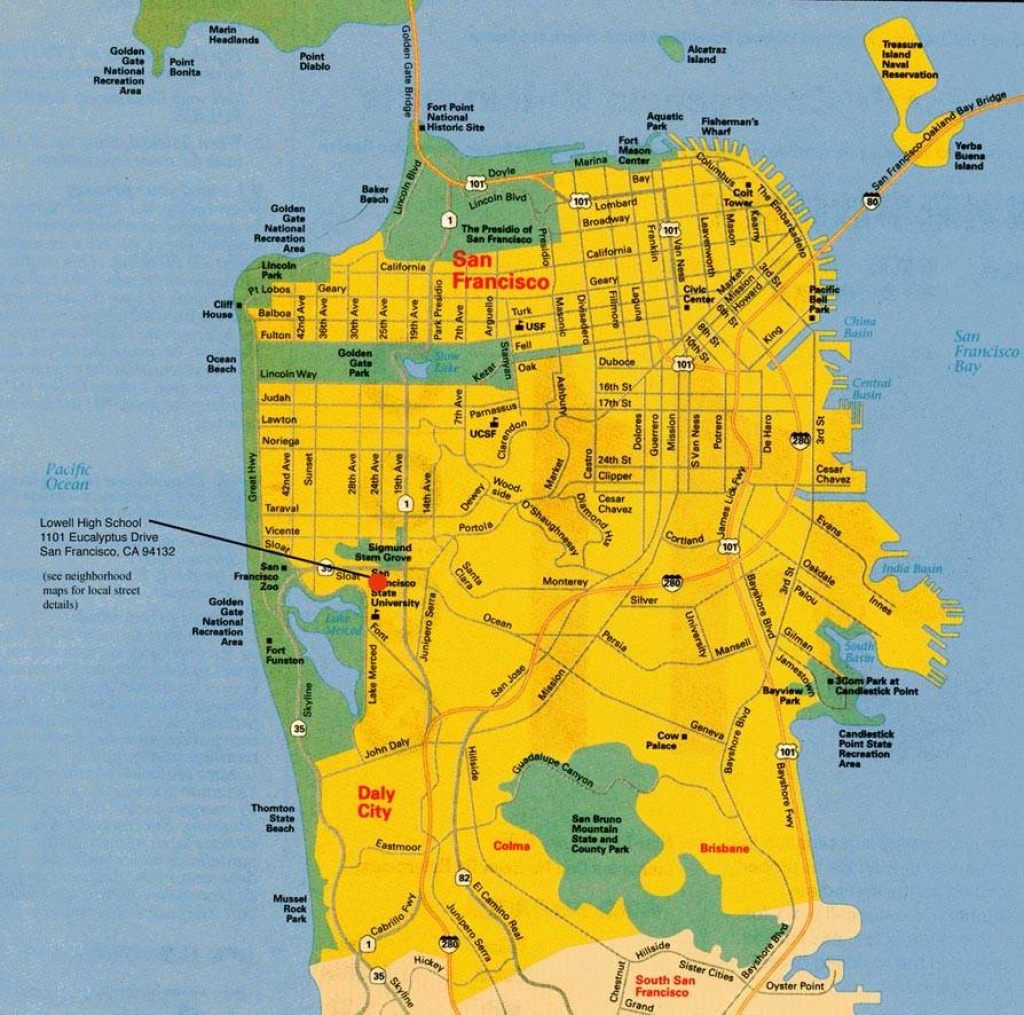 Large San Francisco Maps For Free Download And Print | High - A Map Of San Francisco California