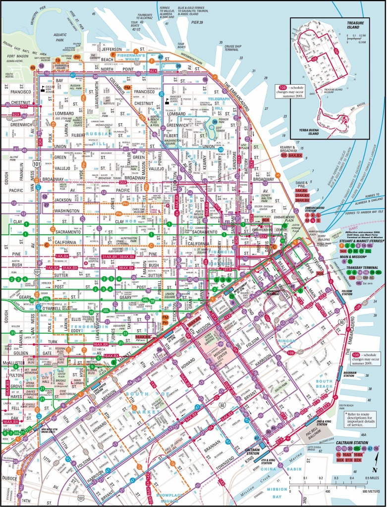 Large San Francisco Maps For Free Download And Print | High - Map Of San Francisco California Usa