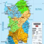 Large Sardinia Maps For Free Download And Print | High Resolution   Printable Map Of Sardinia