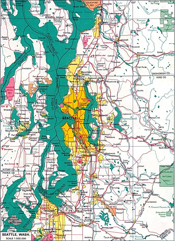 Large Seattle Maps For Free Download And Print   High-Resolution And - Seattle Tourist Map Printable