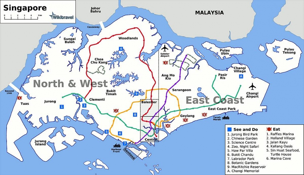 Large Singapore City Maps For Free Download And Print | High - Printable Map Of Singapore