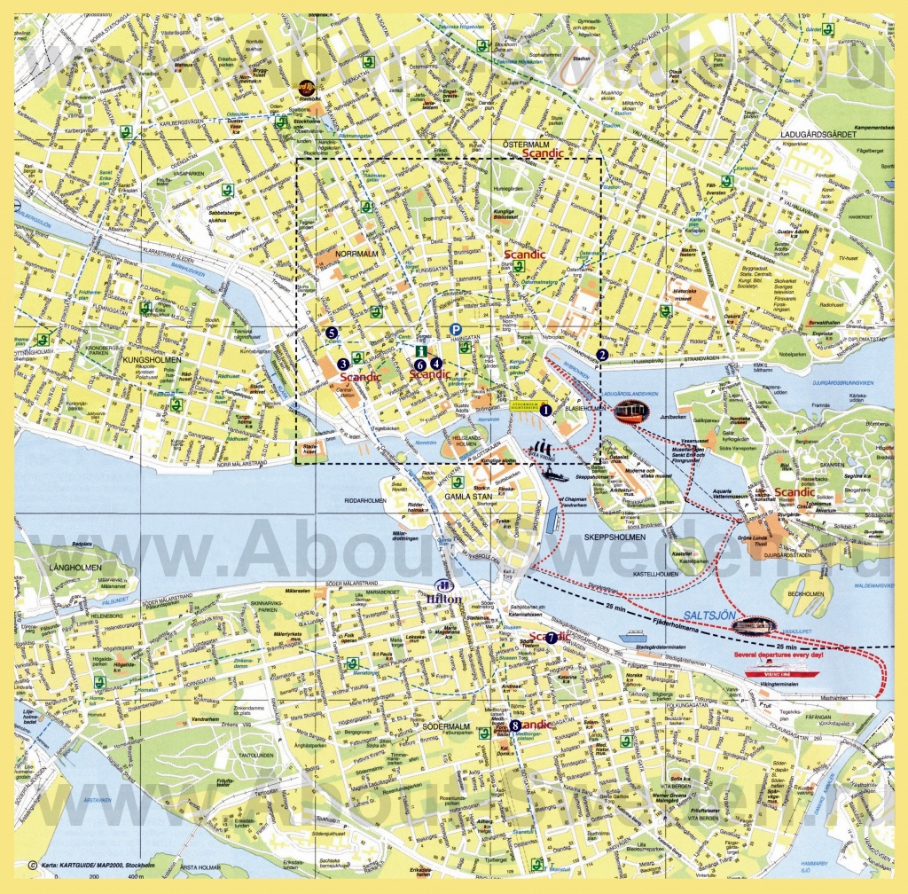 Large Stockholm Maps For Free Download And Print | High-Resolution - Printable Map Of Stockholm