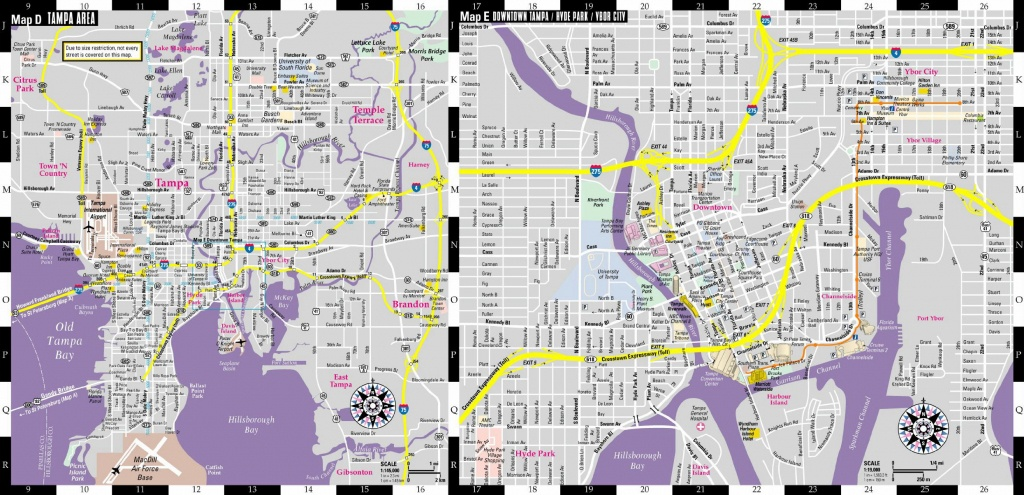 Large Tampa Maps For Free Download And Print | High-Resolution And - Tampa Florida Airport Hotels Map