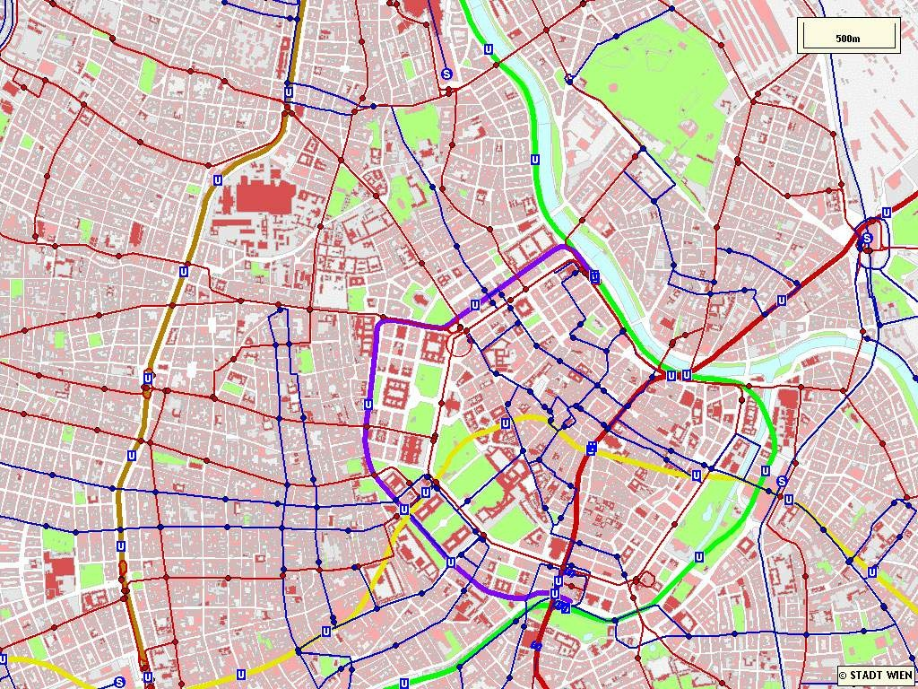 Large Vienna Maps For Free Download And Print   High-Resolution And - Printable Map Of Vienna