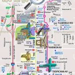 Las Vegas Maps   Top Tourist Attractions   Free, Printable City   Printable Vegas Strip Map