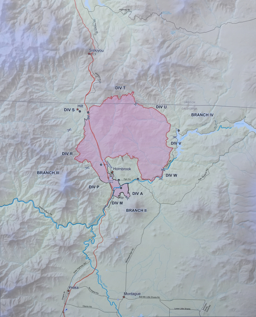 Latest Klamathon Fire Map - California Oregon Fire Map