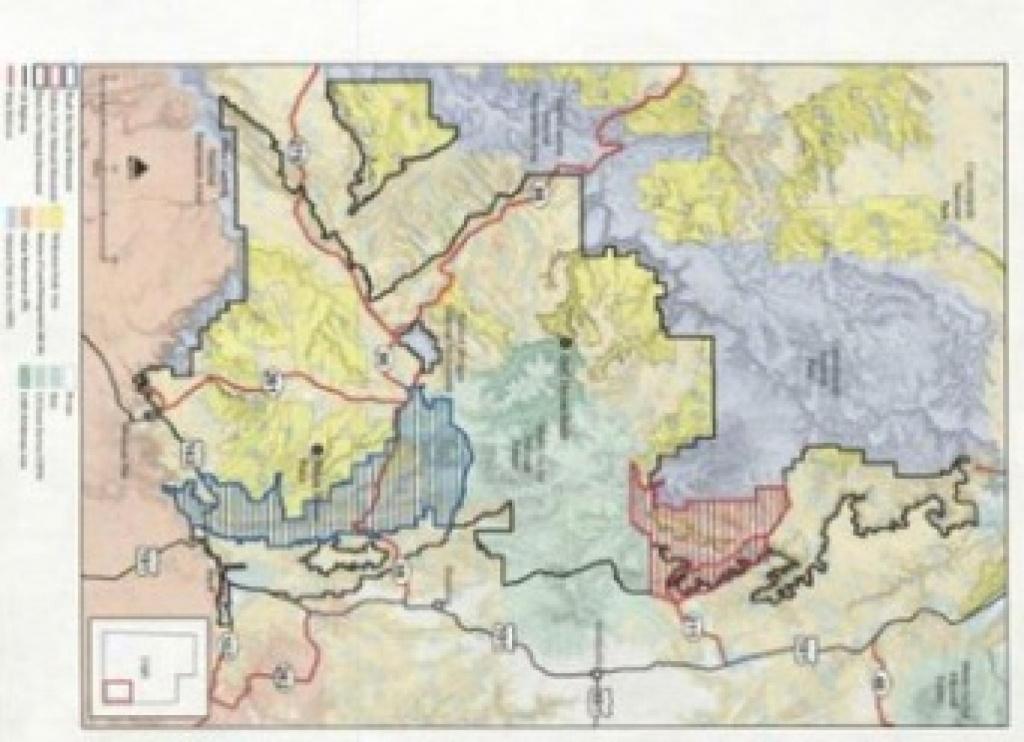 Leaked Maps Show How Trump May Slash Bears Ears, Grand Staircase - Bears In California Map