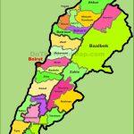 Lebanon Maps   Maps Of Lebanon   Printable Map Of Lebanon