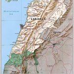 Lebanon Maps   Printable Maps Of Lebanon For Download   Printable Map Of Lebanon