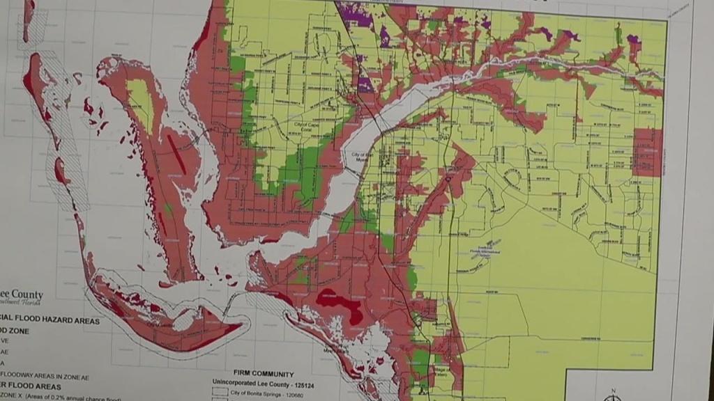 Lee County Urges Head Start On Hurricane Season - Naples Florida Flood Map