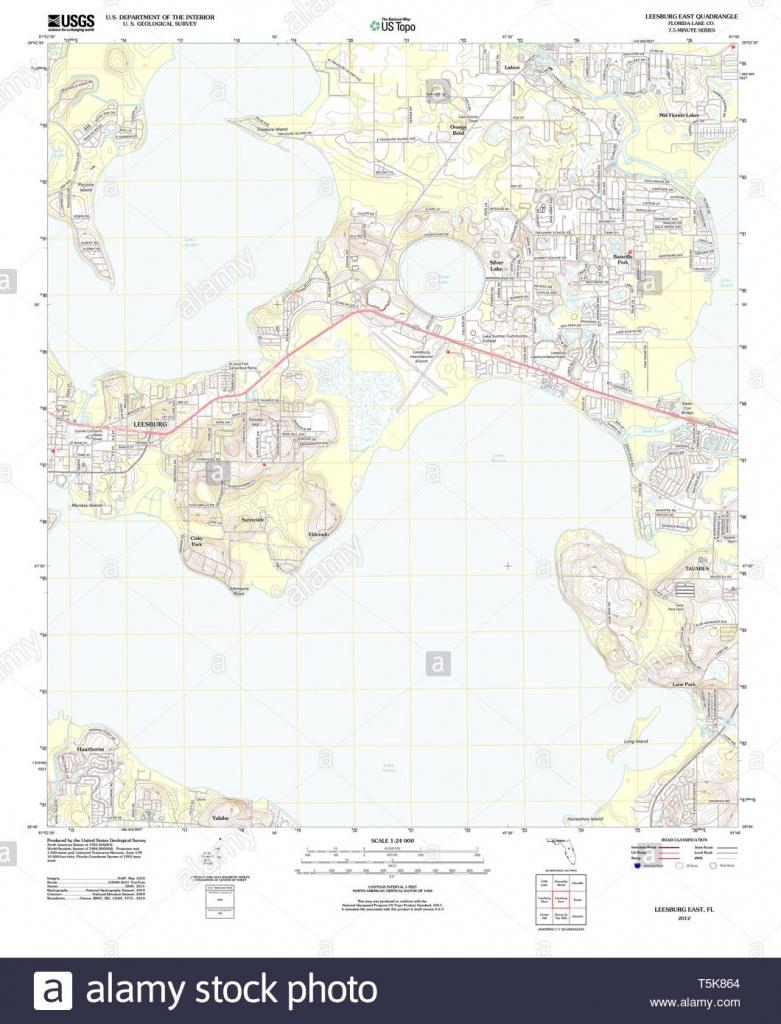 Leesburg, Florida Stock Photos & Leesburg, Florida Stock Images - Alamy - Leesburg Florida Map