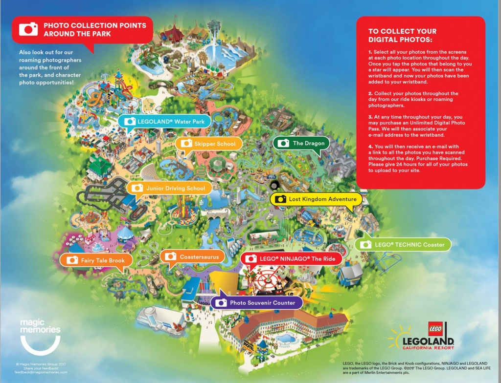 Lego Shopping Options | Legoland California Resort - Legoland California Map