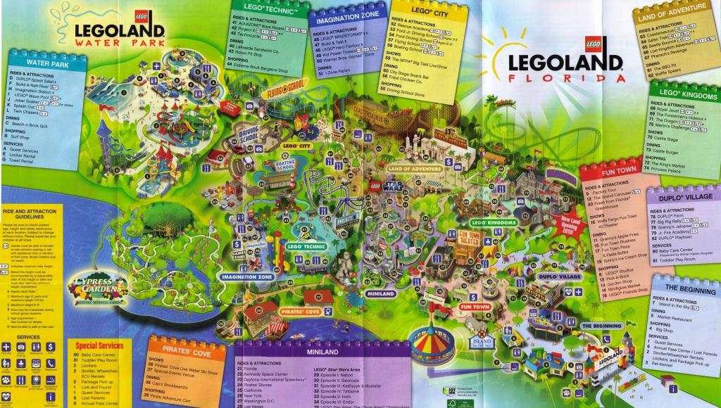 Legoland Florida Map   States Maps - Legoland Florida Park Map