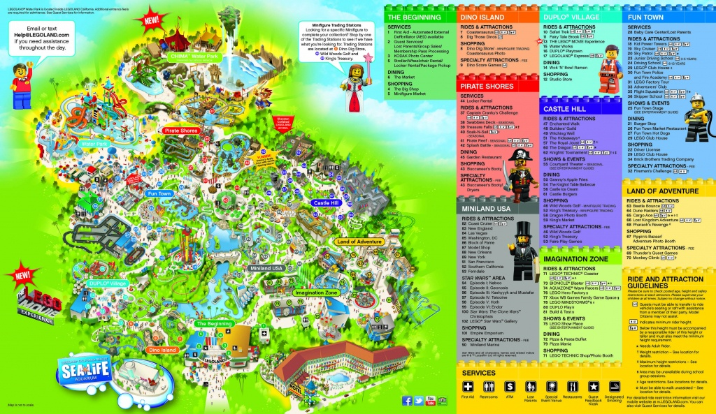 Legoland Hotel Resource Page - Legoland | Carlsbad, California - Legoland Printable Map