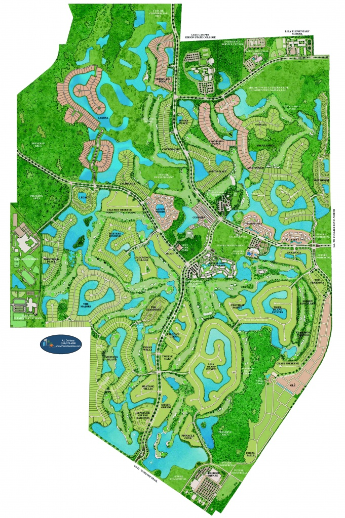 Lely Resort - Naples Florida - Lely Resort Naples Florida Map