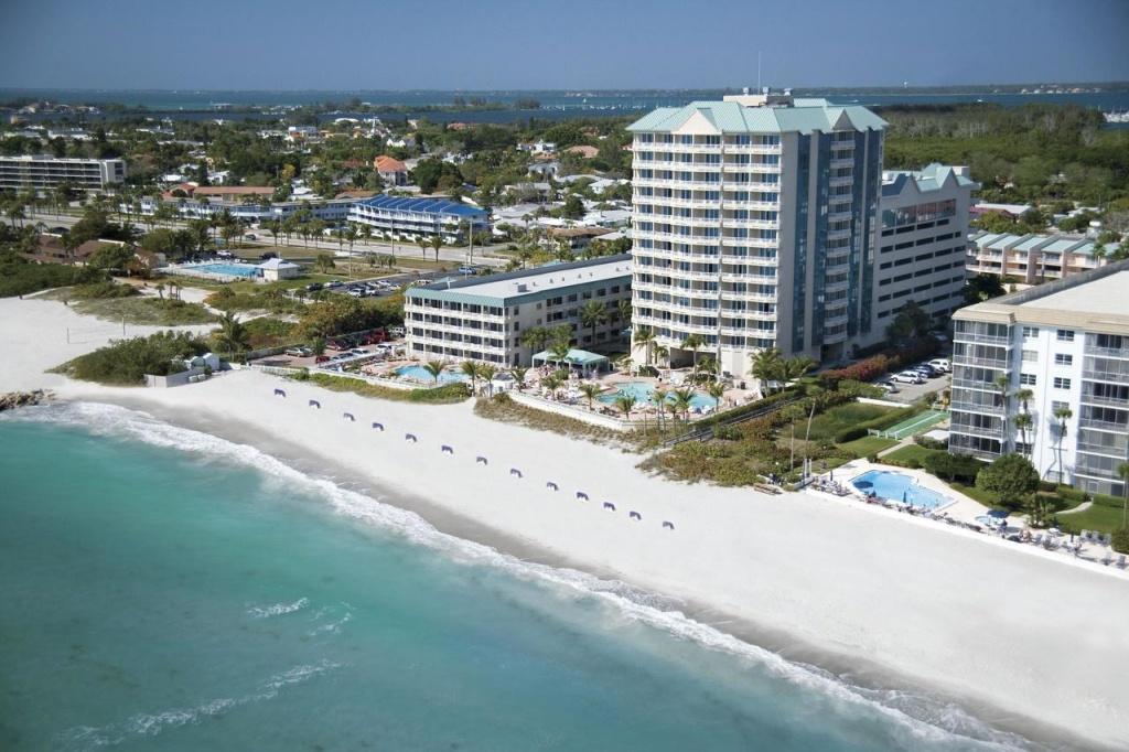 Lido Beach Resort - Sarasota, Fl - Booking - Map Of Hotels In Sarasota Florida