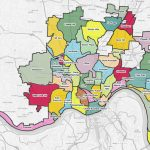 List Of Cincinnati Neighborhoods   Wikipedia   Printable Cincinnati Map