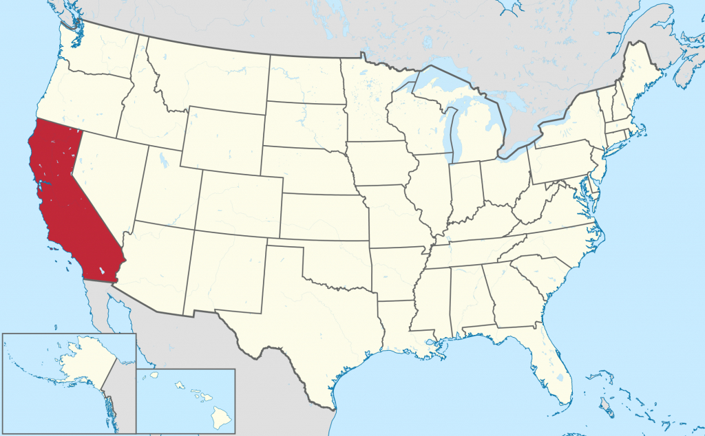 List Of Cities And Towns In California - Wikipedia - California Map With States