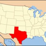 List Of Cities In Texaspopulation   Wikipedia   Show Me A Map Of Texas Usa