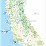 List Of Rivers In California | California River Map   California Waterways Map