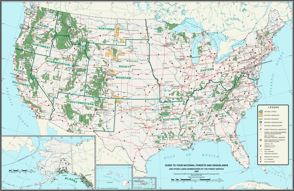 List Of U.s. National Forests - Wikipedia - California Forests Map