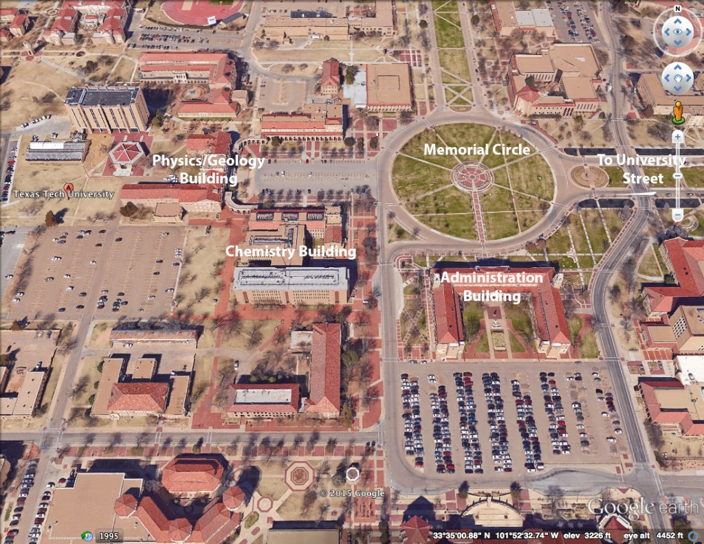 Location | Departmental Facilities | Department Of Chemistry And - Texas Tech Campus Map