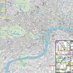 London Maps   Top Tourist Attractions   Free, Printable City Street   Printable City Maps