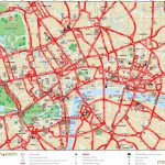 London Maps   Top Tourist Attractions   Free, Printable City Street   Printable Travel Map