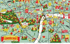 London Top Tourist Attractions Map Great Family Things To Do With   Printable Children\'s Map Of London