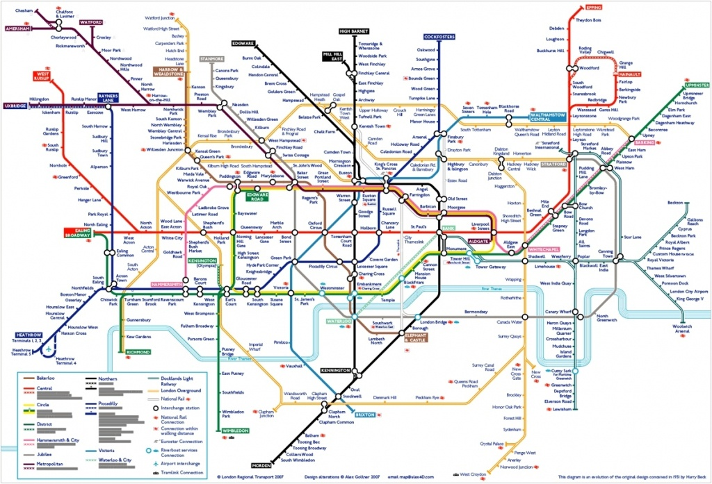 London Tube Map 502910948A8A4 Random 2 Underground Printable In - London Metro Map Printable