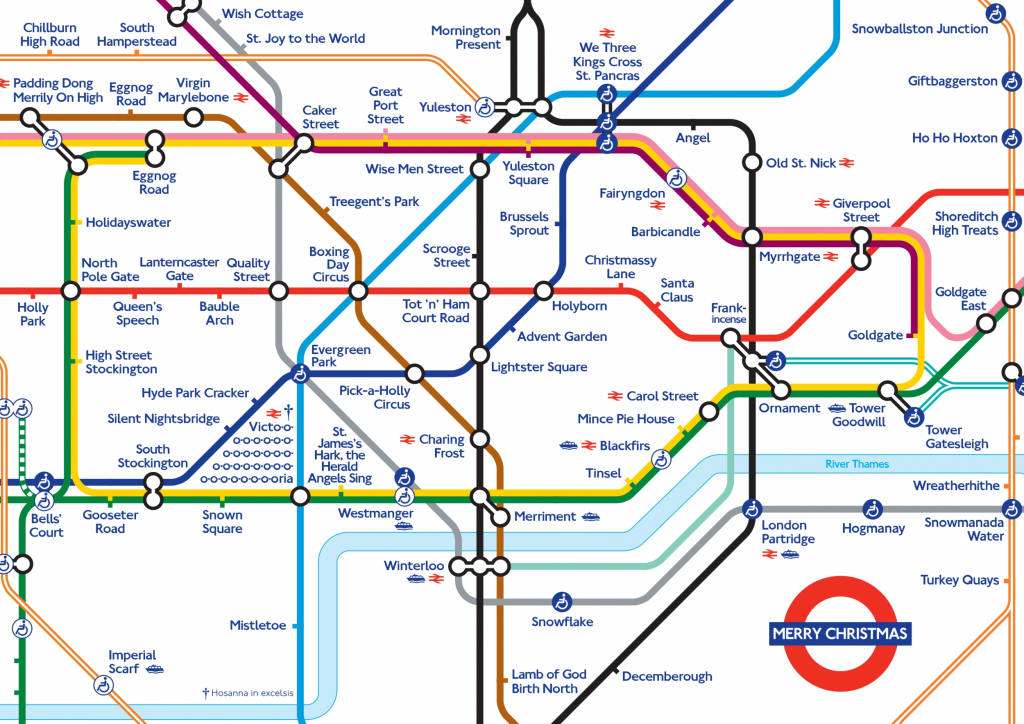 London Underground Map In 3D – Uk Map - Printable London Underground Map