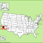 Long Beach Maps | California, U.s. | Maps Of Long Beach   Beach Map Of California