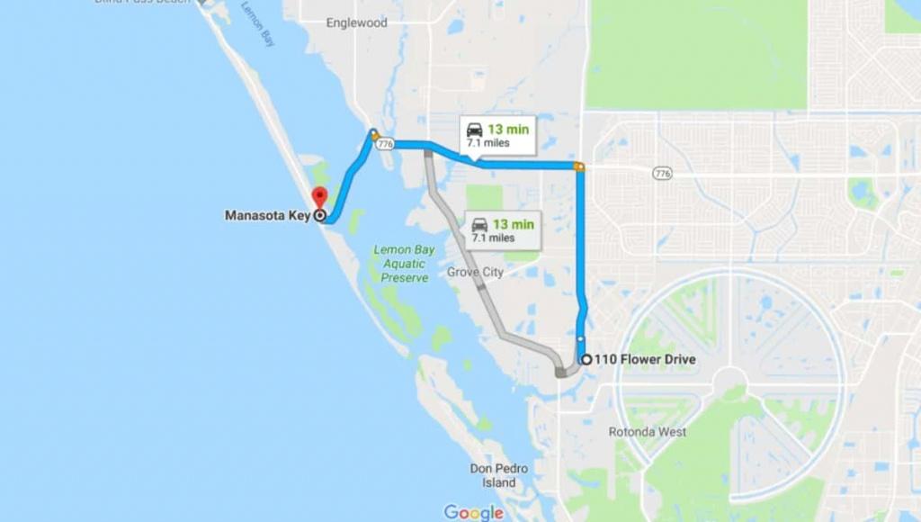Lot - Rotonda West, Florida - 7 Miles From The Sea   Terrenos Na Florida - Rotonda Florida Map