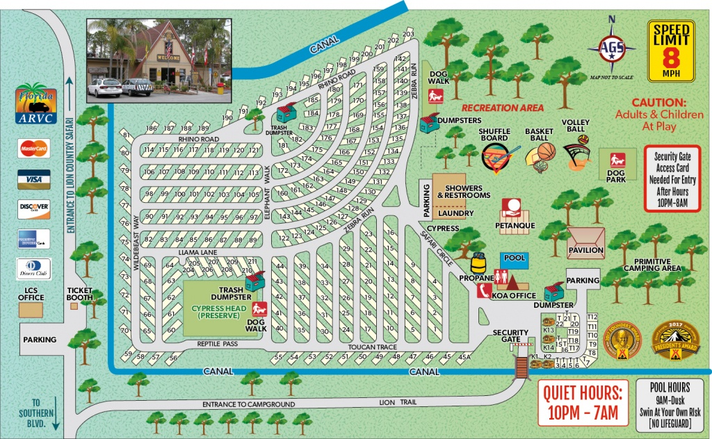 Loxahatchee, Florida Campground | West Palm Beach / Lion Country - Florida Rv Campgrounds Map