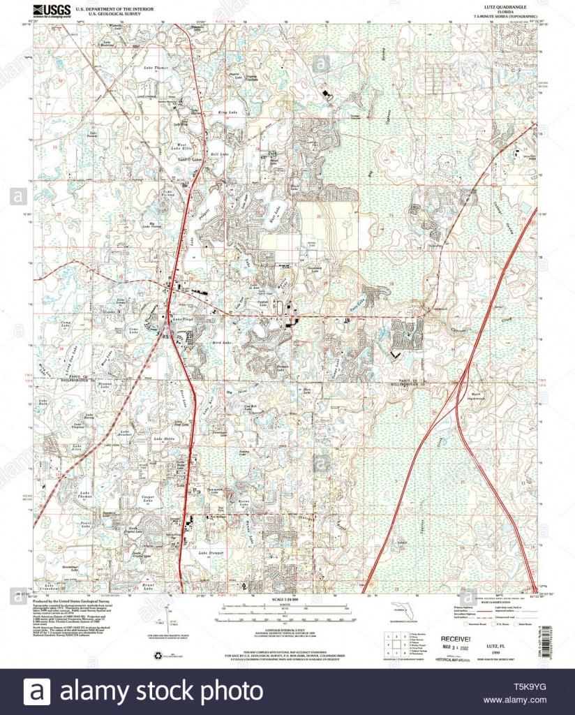 Lutz Florida Stock Photos & Lutz Florida Stock Images - Alamy - Lutz Florida Map