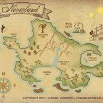Lyndsay Johnson: Neverland Map Downloadable Print   Printable Neverland Map