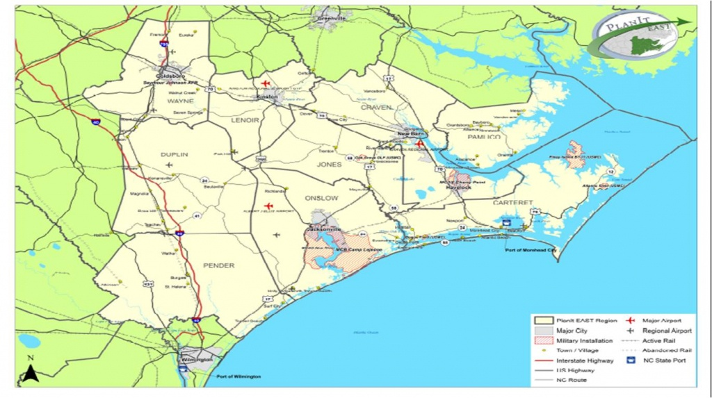 M Printable Maps Map Eastern North Carolina Inspirational Map Of - Printable Map Of North Carolina Cities