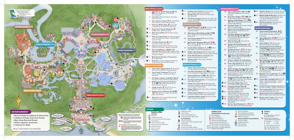 Magic-Kingdom-Map-2   Dis Blog - Map Of Downtown Disney Orlando Florida