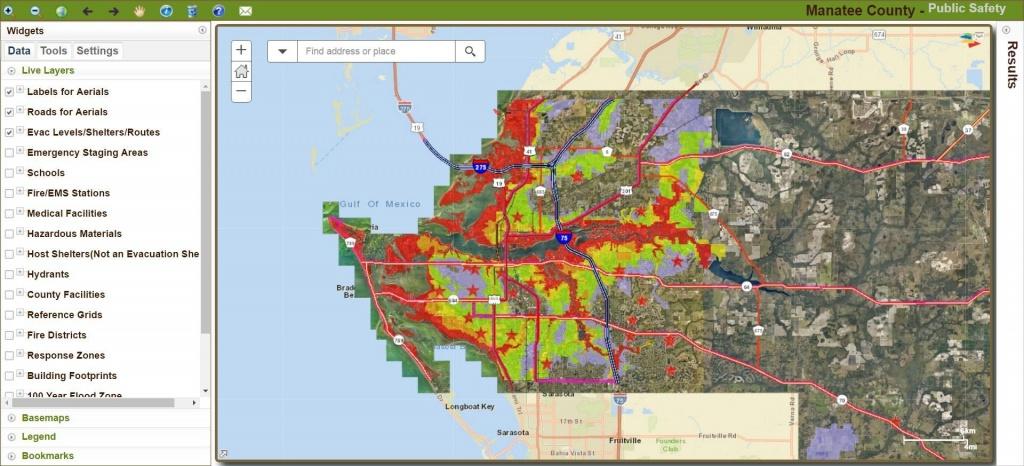 Manatee County Updates Hurricane Storm Surge Maps - News - Sarasota - Sarasota Florida Flood Zone Map