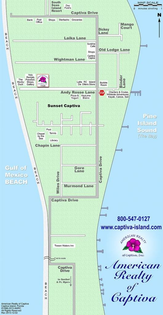 Map: Captiva Island | Sanibel And Captiva Island!!! | Captiva Island - North Captiva Island Florida Map