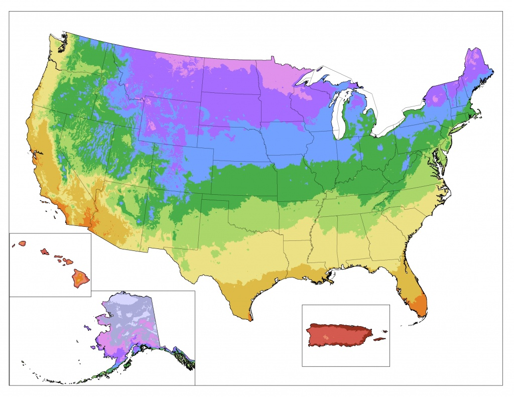 Map Downloads | Usda Plant Hardiness Zone Map - Printable Usda Hardiness Zone Map