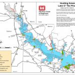 Map | Lake O' The Pines   Texas Fishing Hot Spots Maps
