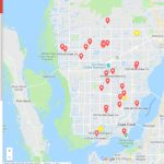 Map Lists Holiday Light Displays Throughout Cape Coral   Street Map Of Cape Coral Florida