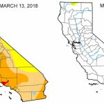 Map: Look At The Drought Difference In California From One Year Ago   California Traffic Conditions Map