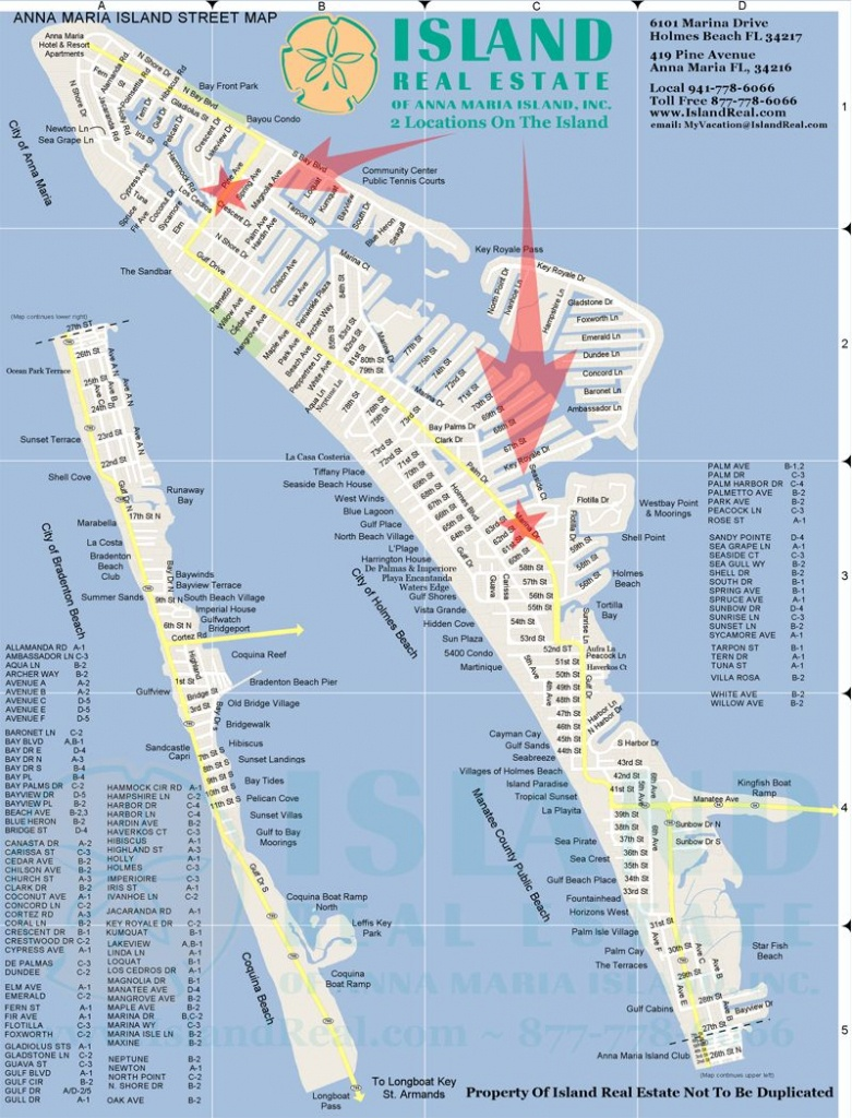 Map Of Anna Maria Island - Zoom In And Out. | Anna Maria Island In - Map Of Hotels In Siesta Key Florida