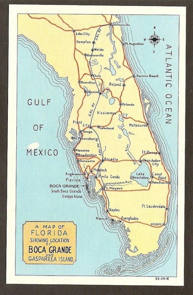 Map Of #bocagrande | Aa One Day | List - Punta Gorda Florida Map